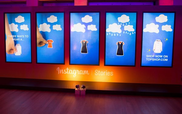 Installation for Instagram Stories Launch