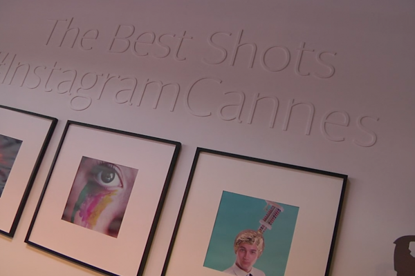Instagram Brand Activation at Cannes Lions Festival