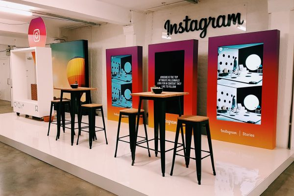 Instagram Exhibition at D&AD Awards