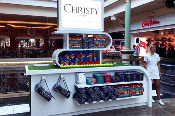 Wimbledon shopping centre activation