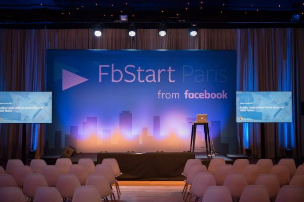 Paris Conference event for Facebook
