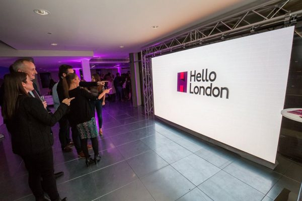 Launch event for 'Hello London'