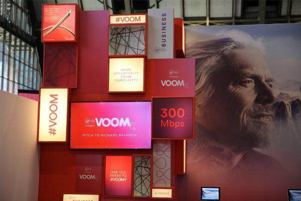 Virgin Media Business Exhibiton Design