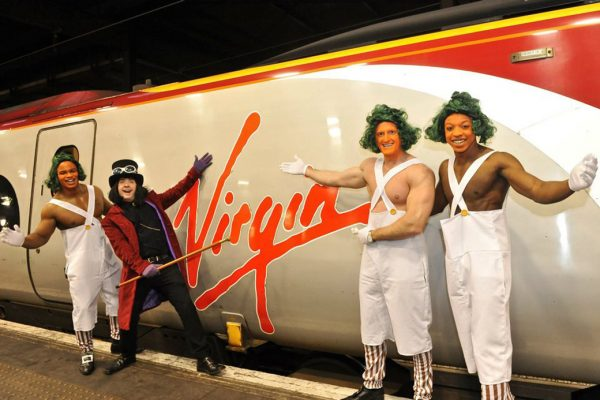 Brand Activation for Virgin Trains